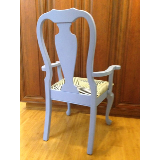 Lavender Painted Vintage Chair - Image 3 of 7