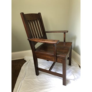 Stickley Mission Cottage Arm Chair Preview