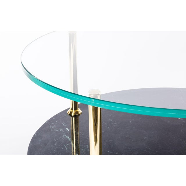 2010s Mgb Round Coffee Table by Artist Troy Smith - Contemporary Design - Artist Proof - Custom Furniture For Sale - Image 5 of 7