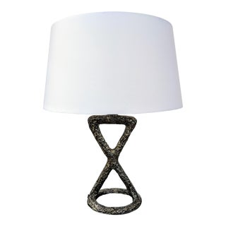 Minimalist Arteriors Home Packard Cast Iron Table Lamp