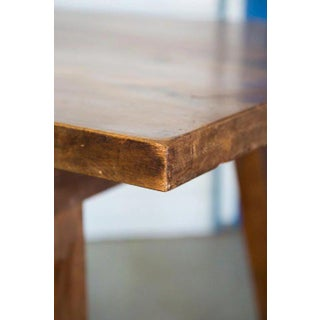 Spanish Beech Farm Table Iron Stretcher 19th C. Preview