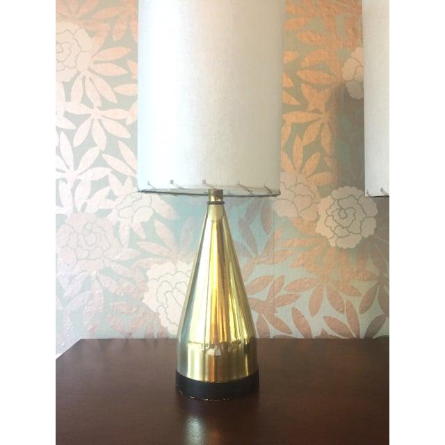 Mi-Century Brass Danish Lamps - A Pair - Image 3 of 8