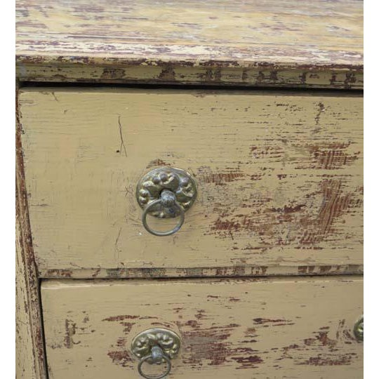 Mid 19th Century Antique French Three Drawer Chest For Sale - Image 5 of 6