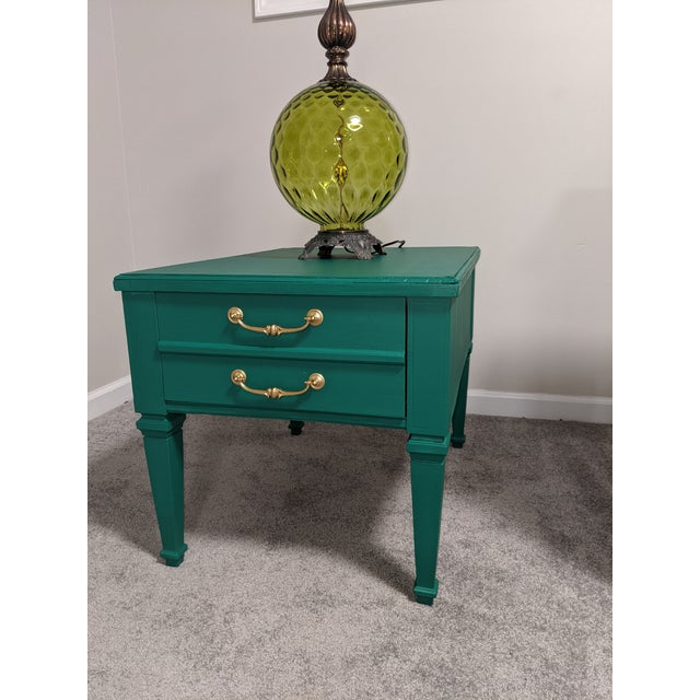 Mid Century Lane Coffee Table/Night Stand For Sale - Image 10 of 11