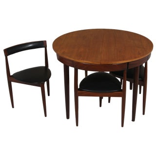 Hans Olsen Frem Rojle Table With 4 Chairs