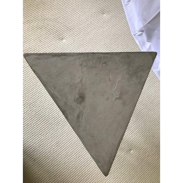 Katy Skelton Concrete & Brass Zelda Table - Image 5 of 6