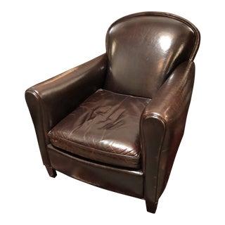Crate & Barrel Eiffel Club Chair For Sale