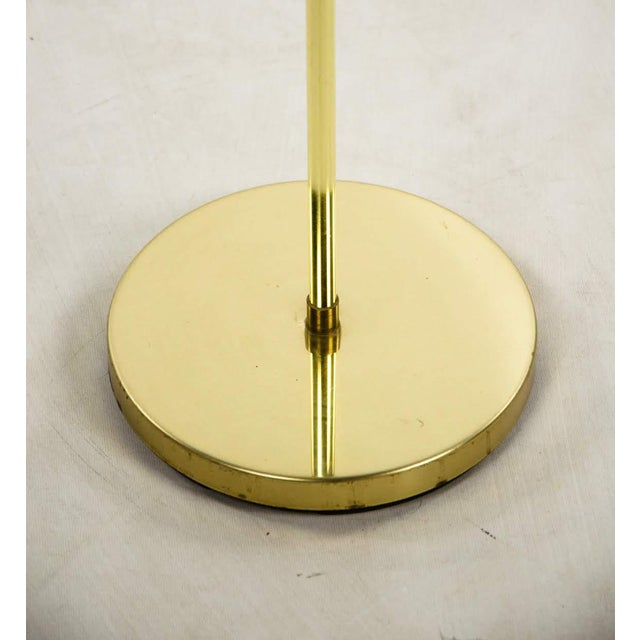 Mid Century Modern Style Brass Adjustable Reading Floor Lamp For Sale - Image 11 of 13