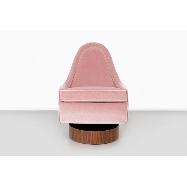 1970s Milo Baughman Child's Size Swivel Chairs For Sale - Image 5 of 13