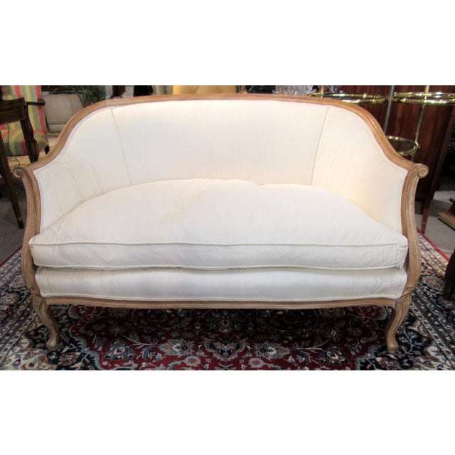 Country French Style Settee For Sale - Image 12 of 13