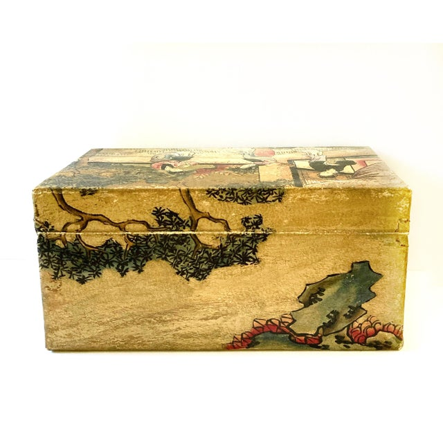 Chinese Qing Dynasty Pigskin Box For Sale - Image 9 of 13
