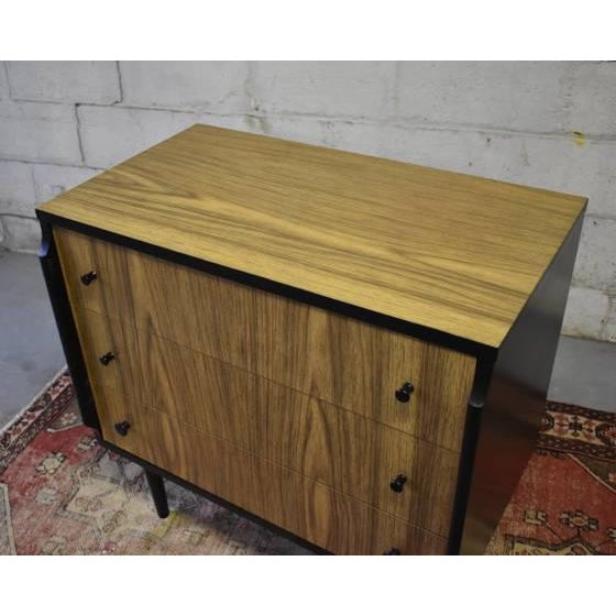 "Danish Modern Mid Century Modern Dresser by Kent Coffey ""Teakway"" For Sale - Image 3 of 8"