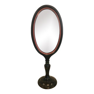 Antique Table Mirror on Stand For Sale