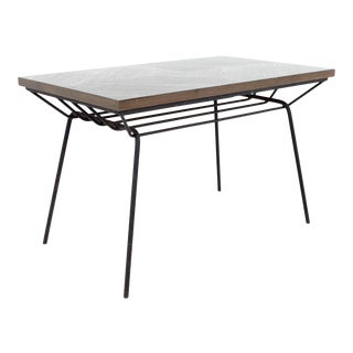 Milo Baughman for Pacific Iron Works Mid Century Dining Table For Sale