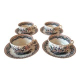 """Image of Booths """"Old Dutch"""" Cup & Saucers - Set of 4 For Sale"""