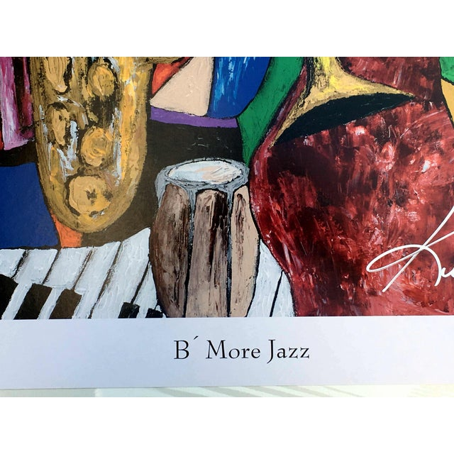 "Metal Modern ""B' More Jazz"" Festival Poster by Keith Henderson For Sale - Image 7 of 10"