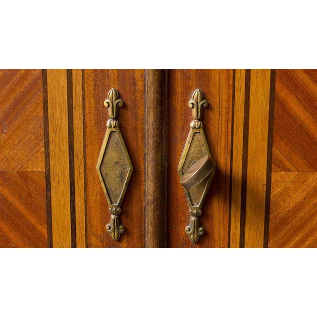 Mid 19th Century French Cabinet With Marble Top For Sale - Image 5 of 12