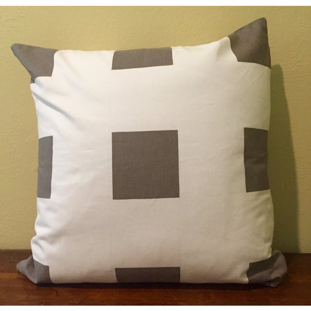 Gray & White Geometric Pillows - Set of 4 - Image 5 of 11