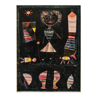 "1958 Paul Klee, First English Edition ""Puppet Show"" Lithograph For Sale"