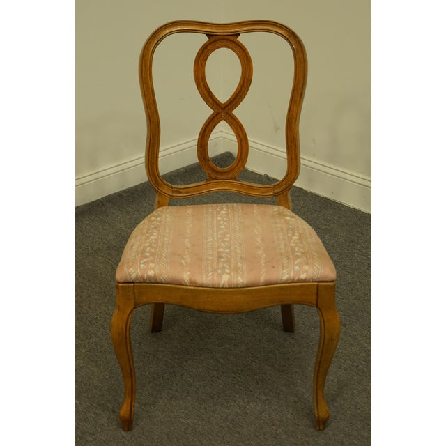 Traditional Vintage Thomasville Furniture Tableau Collection Dining Side Chair For Sale - Image 3 of 11