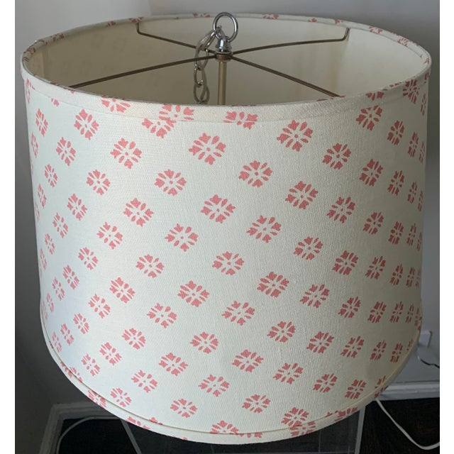 2010s Custom Kathryn Ireland Fabric Pendant Light For Sale - Image 5 of 10