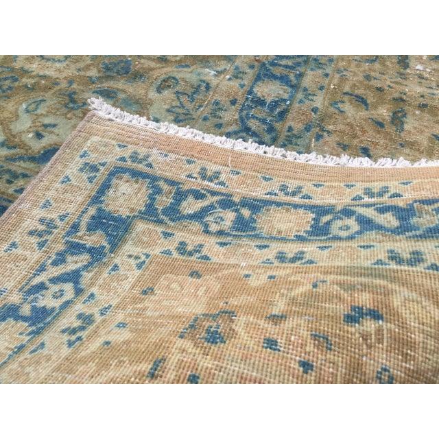 Vintage Antique Handmade Oversize Tribal Persian Rug - 9′10″ × 12′1″ For Sale - Image 4 of 12