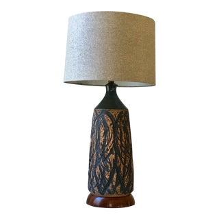 Signed Victoria Littlejohn Hand Thrown Ceramic Lamp