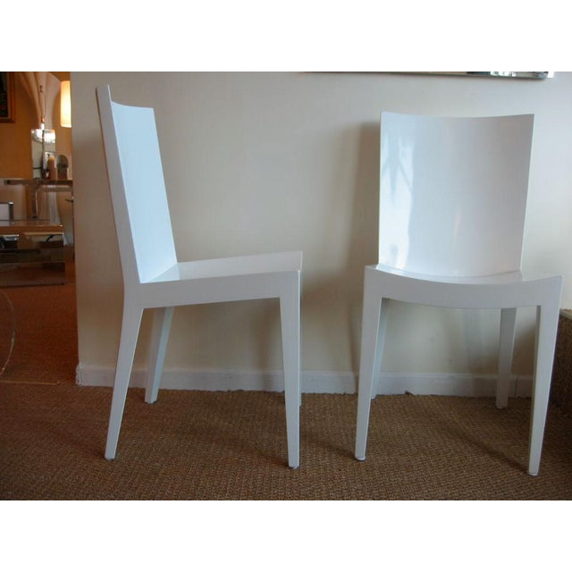 "Pair of Karl Springer ""JMF"" Chairs - Image 6 of 7"