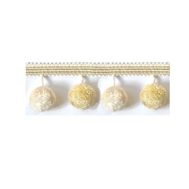 Boho Chic Pompom Tassel Fringe - 6.75 Yds For Sale - Image 3 of 6