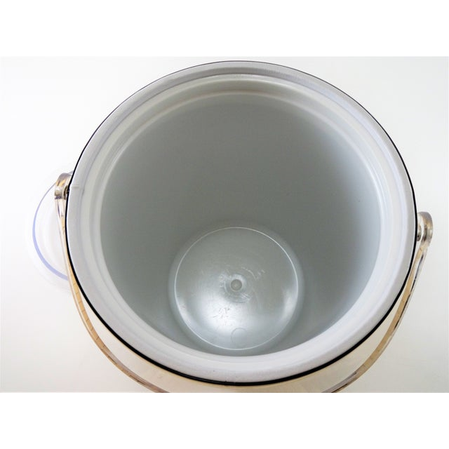 Mid 20th Century Georges Briard Mid-Century Modern Gold Ice Bucket For Sale - Image 5 of 13