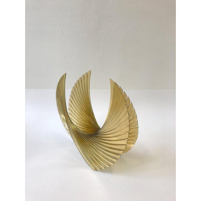 Amber Glass Sculpture by Tom Marosz For Sale - Image 10 of 11