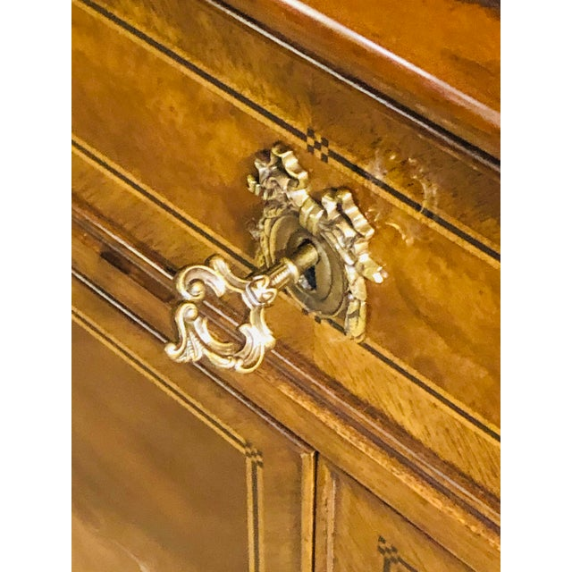 Karges Furniture French Walnut Louis XVI Style Sideboard For Sale In West Palm - Image 6 of 13