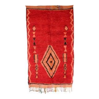 "Boujad Vintage Moroccan Rug, 4'9"" x 7'10"" feet / 144 x 240 cm"