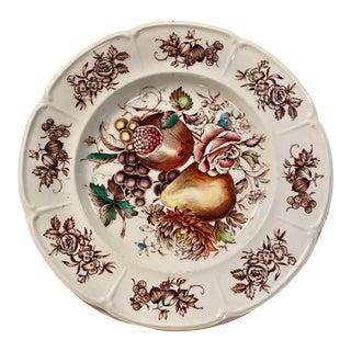 English Dessert Plates, 4/Set For Sale