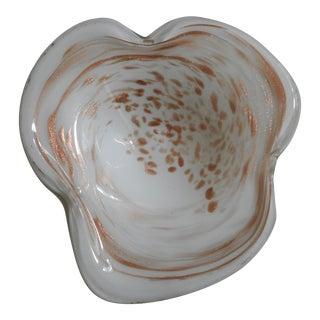Vintage Murano Aventurine Bowl