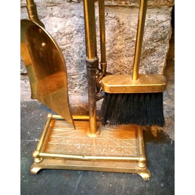 Brass Golf Motif Fireplace Tool Set - Image 7 of 7