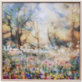JD Weiss Woodstock, NY Landscape Painted Photograph For Sale