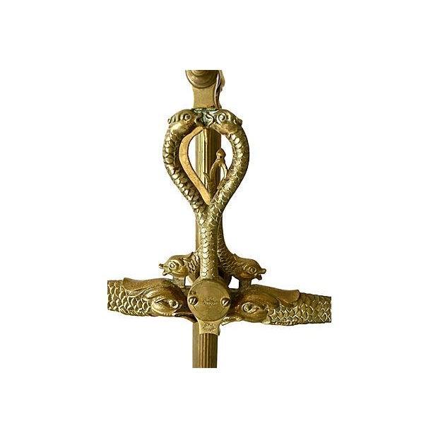 Brass Balance Scales With Serpent Design Chairish