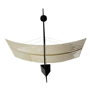 Post Modern Zefiro Suspension Artemide Light - Mario Botta - Memphis For Sale
