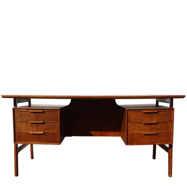 20th Century Scandinavian Gunni Omann Writing Desk For Sale - Image 9 of 9