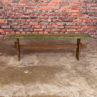 Antique Painted Pine Bench Preview