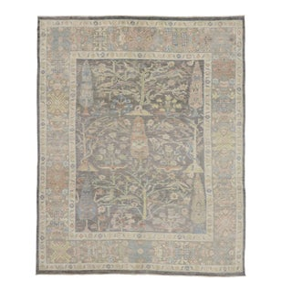 Indian Tree of Life Oushak Rug - 09'01 X 11'03 For Sale