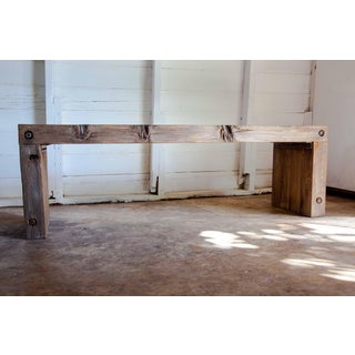 """Vintage Parsons Wood Dining Entry Table 52"""" Preview"""