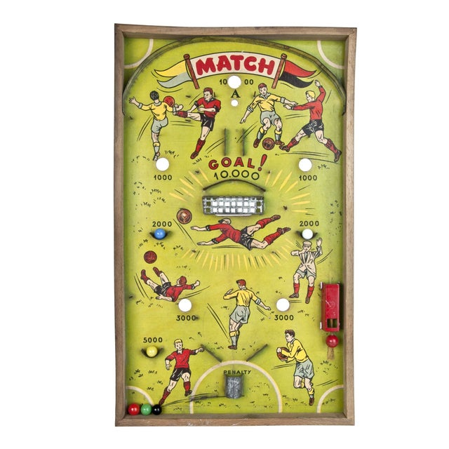 French Football Bagatelle Game - Image 1 of 2