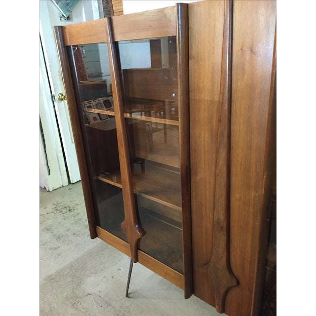 Mid Century Modern Cabinet on Hairpin Legs - Image 10 of 10