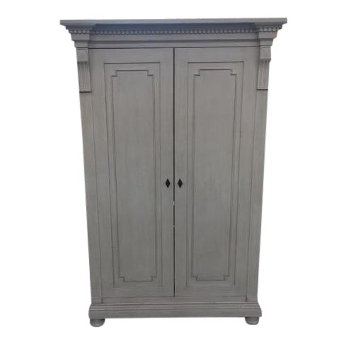 RH Baby & Child Antiqued Sage Jameson Armoire - Image 1 of 6