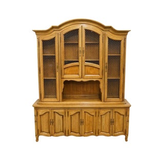 "Thomasville Furniture Chateau Collection Country French 66"" China Cabinet 995-1200 For Sale"