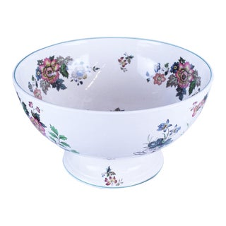 20th Century Asian Spode Punch Bowl For Sale