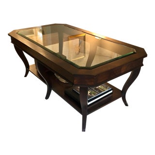 Ethan Allen Willoughby Coffee Table For Sale