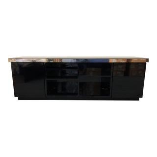Custom Modern Media Cabinet For Sale